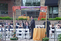 miami bech jewish wedding chuppah